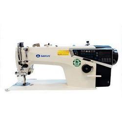 Máquina de costura duas agulhas ponto corrente