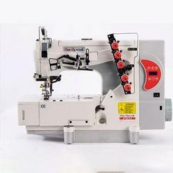 Máquina de costura galoneira semi industrial